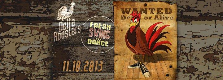 Парти със суинг музика на живо с Delta Roosters
